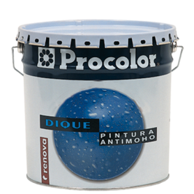 Proco Dique Pintura Plástica Antimoho Blanco
