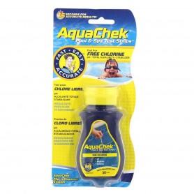 AquaChek tiras análisis cloro, pH y alcalinidad
