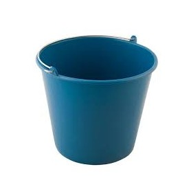 Cubo Redondo Agua Engomado