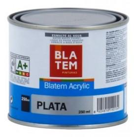 Blatem Acriylic metalizado plata