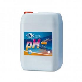 Reductor de PH líquido para piscinas