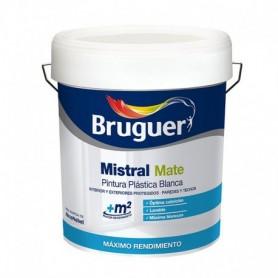 Pintura plástica Blanca Mistral Mate de Bruguer