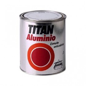 Titán aluminio esmalte anticalórico