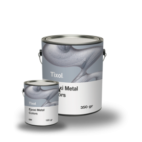 Resina Epoxi Metal Colors Gris Metal - TIXOL