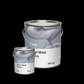 Epoxi Metal White - Blanca (Base para Pigmentos) - TIXOL