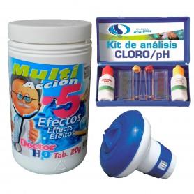 Kit Básico Mantenimiento Piscina Desmontable