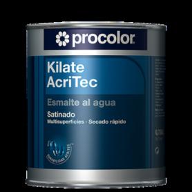Esmalte al agua satinado Kilate AcriTec de Procolor