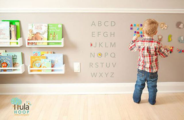 pintura magnética para decorar habitación infantil